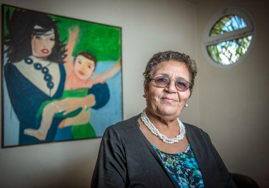 Aicha Ech-chenna, présidente de l'Association Solidarité féminine. / H. Ouazzani, Elle.fr
