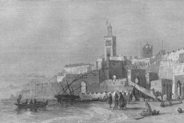 American Civil War : When Morocco violated its neutrality arresting two Confederate diplomats