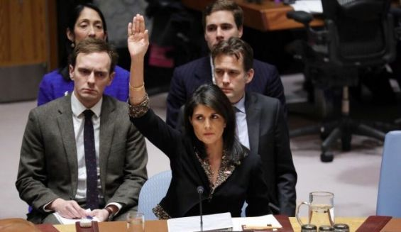 L'ONU condamne la décision de Trump — Jérusalem capitale d'Israël
