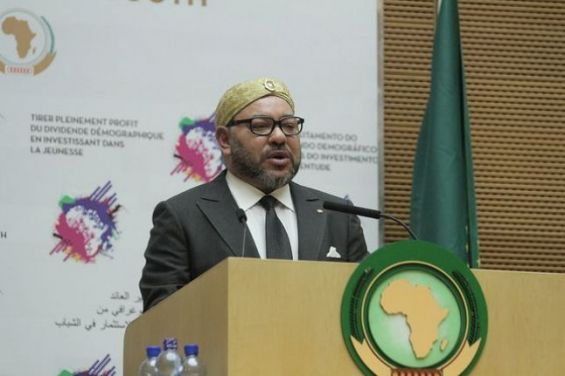 AU Summit: Morocco's King Calls for Setting up an African Migration Observatory