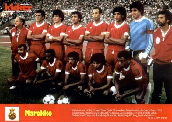 Football retour en vid o sur le parcours des lions de l 39 atlas en coupe du monde - Maroc coupe du monde 1998 ...