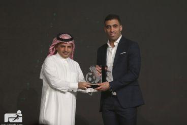 Arabie saoudite : Abderrazak Hamed-Allah remporte les prix du Soulier d'or et du meilleur buteur
