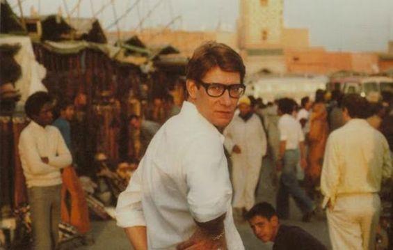 b1da81b48ec Histoire : Quand Yves Saint Laurent faisait visiter le Maroc aux top ...