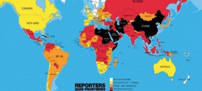 Liberté de la presse : Le Maroc perd deux places dans le classement RSF