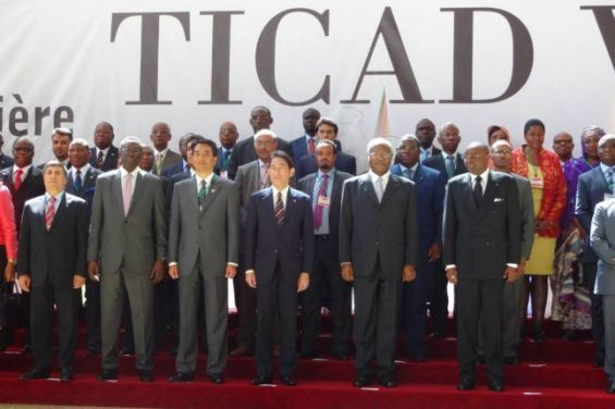 Bildergebnis für African leaders in Japan for 7th TICAD summit