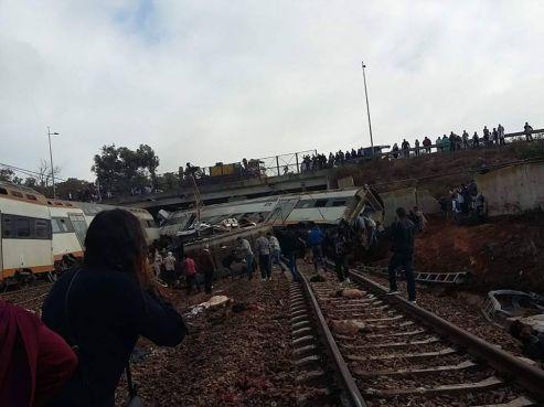 Accident de train au Maroc: 6 morts et 86 blessés