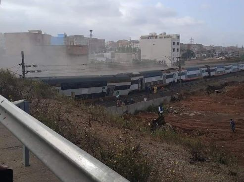 Un déraillement de train mortel — Rabat-Kénitra