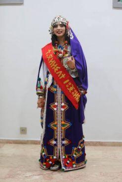 حنان أوبلا تتوج بلقب ملكة جمال الأمازيغ لسنة 2017 [صور]