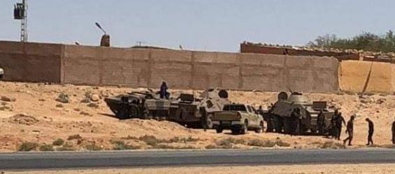 رغم استعانة جبهة البوليساريو بالدبابات..تجدد الاحتجاجات بمخيمات تندوف