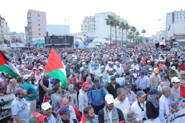 Thousands of Moroccans rally in Casablanca to denounce US Jerusalem embassy move