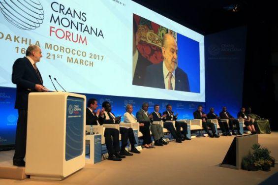 Le Forum de Crans Montana démarre jeudi prochain