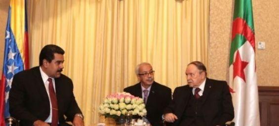 Le Venezuela réagit depuis Alger au soutien du Maroc à Juan Guaido