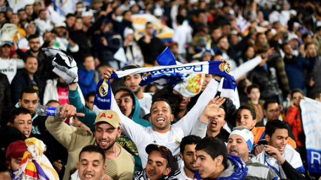 Mondial des clubs: Bale et Ancelotti impressionnés par les fans marocains