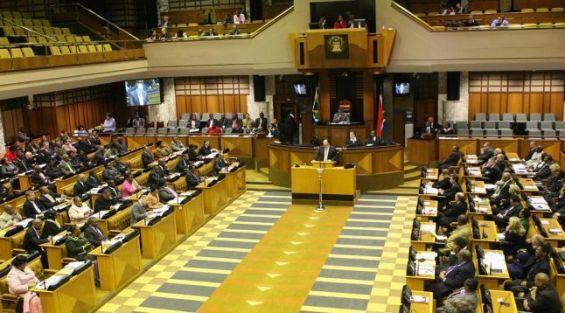 Démonstration de force de l'ANC et des EFF — Afrique du Sud