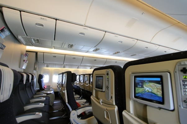 Air france affiche sur ses cartes la rasd pays non for L interieur d un avion