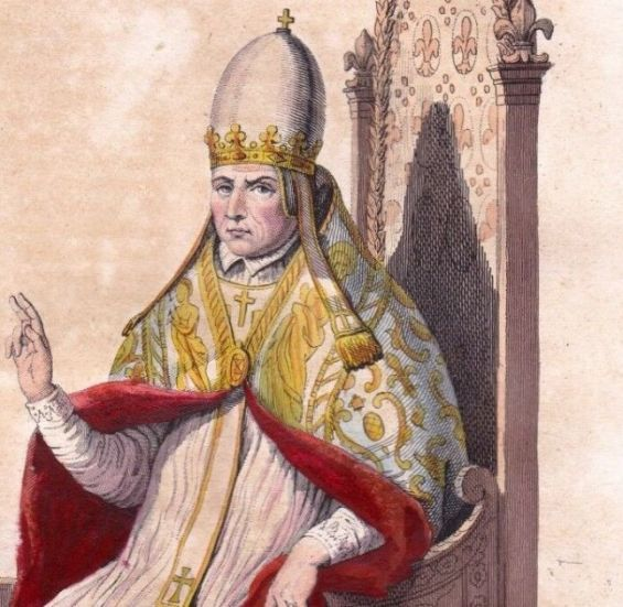 Pope Sylvester II. / Ph. DR