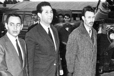 Le roi Hassan II et le président algérien Houari Boumediene. / Ph. DR