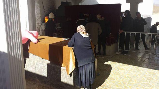 Le mausolée du Rabbi Its'Hak Abe'Hssira à Toulal, près de Gourrama (Est de Rich). / Ph. Isaac Ouaknine and Yoram Ouaknin - rabbimap