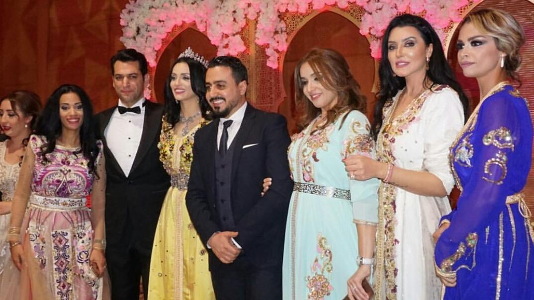 Un deuxième mariage à la marocaine pour la Miss Imane El Bani et son  conjoint turc Murat Yildirim