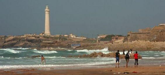 Les plages marocaines, claires comme de l'eau roche ?