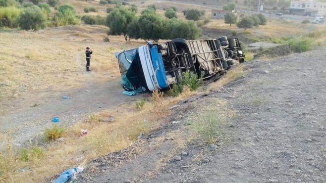 Trois accidents de la route se sont succédés dans la province de Taounate / Source : Taounate City - Facebook