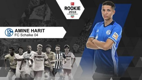 Morocco s Amine Harit granted the Rookie of the Year award by German  Bundesliga. Ph. Twitter 2d10825a2
