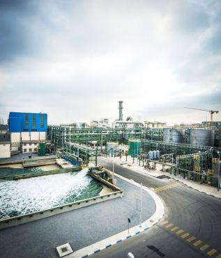 La nouvelle unité de production d'engrais, l'African Fertilizer Company, a été inaugurée début février. (c)OCP