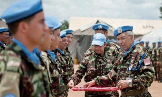 En Centrafrique, un casque bleu mauritanien tué