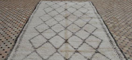 un pice originale du tapis de beni ourain ph beyond marrakech - Tapis Marocain