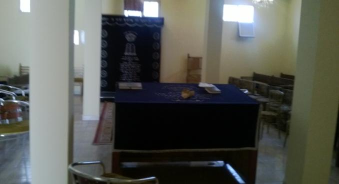La synagogue de Rabbi Abraham Awriwer alias Mwalin Dad. / Ph. DR