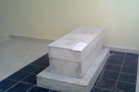 La tombe de Rabbi Abraham Awriwer alias Mwalin Dad. / Ph. DR