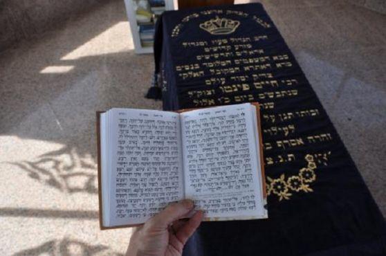 La tombe de Rabbi Haïm Pinto au cimetière juif d'Essaouira. / DR