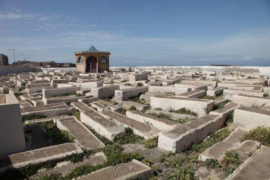 Le cimetière juif d'Essaouira. / DR