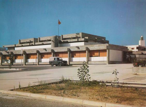 L'un des bâtiments érigés par Elie Azagury à Agadir, dont il a participé à la reconstruction, sert aujourd'hui de tribunal administratif. | DR