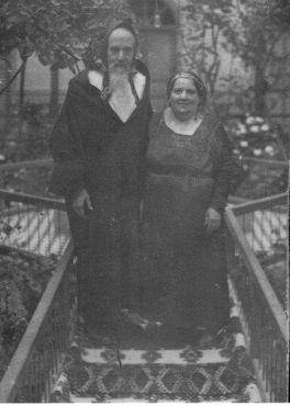 Rabbi Pinhas Ha-Cohen et sa femme. / DR