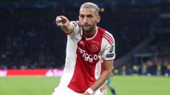 Hakim Ziyech proche de rejoindre les Blues — Chelsea