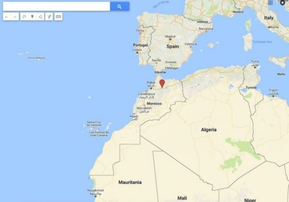 Map Of Spain Google Maps.Google Maps 2015 Updates Confuse Media In Morocco And The Polisario