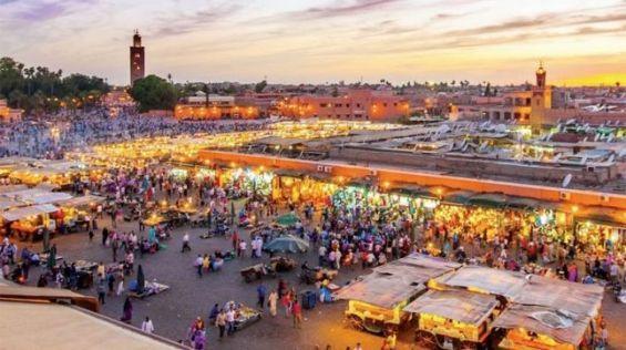 صورة لمدينة مراكش الرائعة الموجودة في المغرب