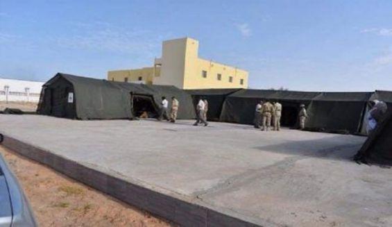 فيروس كورونا: إعداد مستشفى ميداني عسكري في النواصر