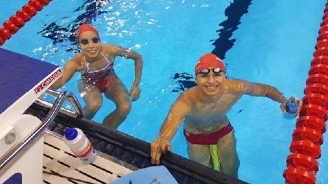 Entrainement.  Photo/Fédération royale marocaine de natation/Facebook