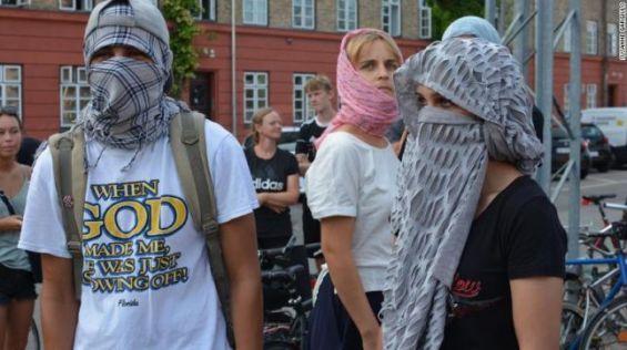 L'interdiction de la burqa entre en vigueur le 1er août — Danemark