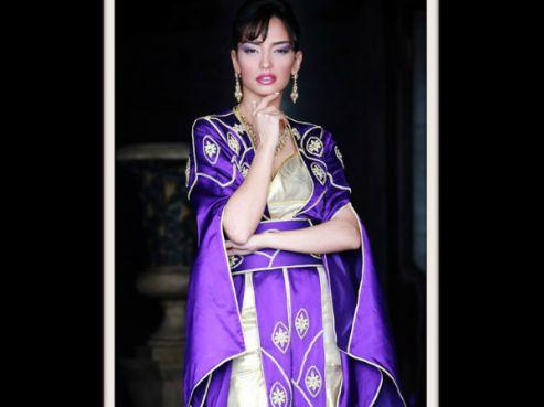 caftan en 2013, le mariage des couleurs