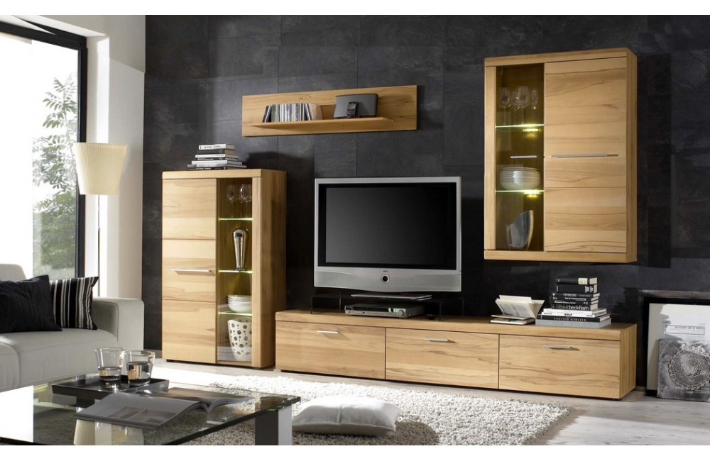 meubles de salon en bois moderne meilleures images d. Black Bedroom Furniture Sets. Home Design Ideas