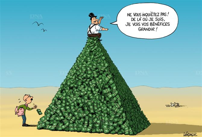 arnaque pyramide