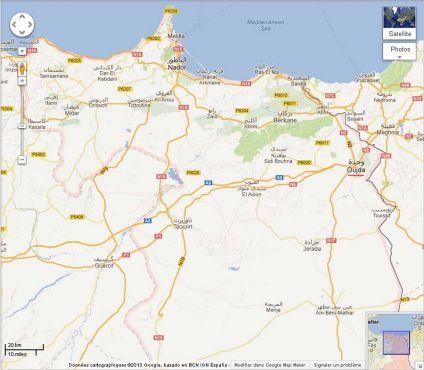 Carte Carrefour Maroc.Les Projets Structurants Dans La Region De L Oriental Pour
