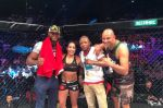 MMA : Victoire en 27 secondes de Rizlen Zouak face à Jacqualine Trosee