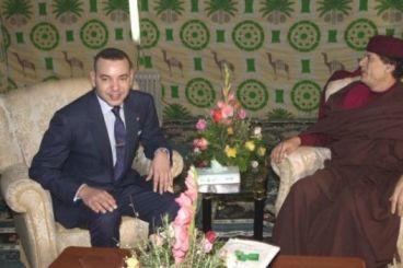 تاريخ: عندما تضايق الملك محمد السادس من مناداة القذافي له بـ