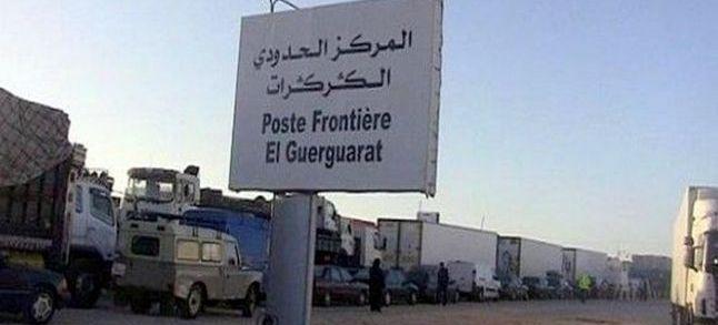 El Guerguerate : Le blocage du passage par des jeunes sahraouis est levé