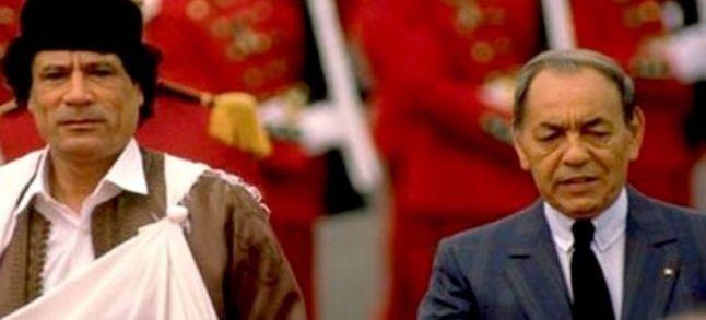 تاريخ: عندما التمس القذافي وساطة الحسن الثاني لرفع الحصار الأممي عن ليبيا