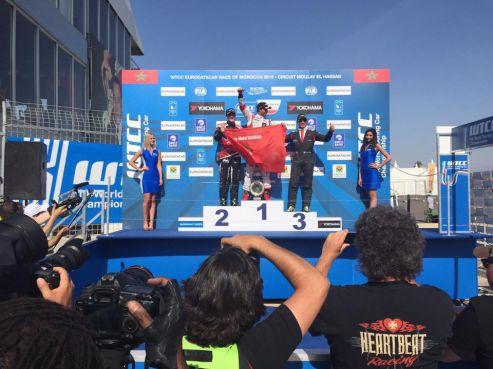 Mehdi Bennani réalise une belle performance au WTCC Marrakech